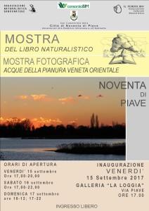 MOSTRA DEL LIBRO NATURALISTICA- MOSTRA FOTOGRAFICA, ACQUE DELLA PIANURA VENETO ORIENTALE