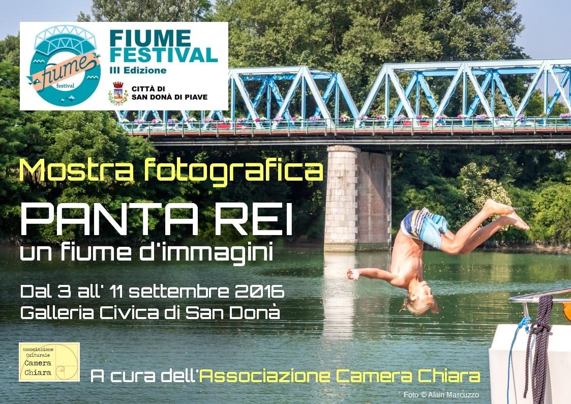 03-11 Settembre 2016 - MOSTRA FOTOGRAFICA - PANTA REI, UN FIUME D'IMMAGINI - Michele Zanetti