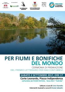 fIUME festival-Locandina Per fiumi e bonifiche2
