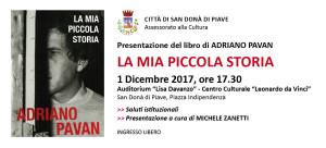 LA-MIA-PICCOLA-STORIA-Autore-Adriano-Pavan-Presentazione-libro-Michele-Zanetti