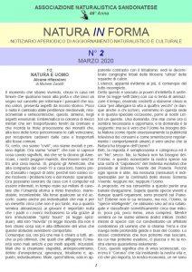 natura in forma n.2 - Notiziario aperiodico di aggiornamento naturalistico e culturale - ANS